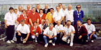 Members of the Carrefour Petanque Club and the Jersey Petanque Club